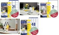 AVERY Zweckform Versand-Etiketten Home Office, 199,6x143,5mm