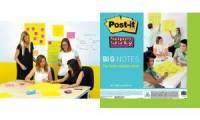 Post-it Super Sticky Big Notes, 279 x 279 mm, ultragelb