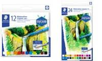 STAEDTLER Aquarellkreide Design Journey, 12er Kartonetui