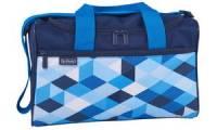 herlitz Sporttasche Blue Cubes, aus Polyester