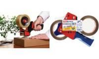tesapack Verpackungsklebeband & -Handabroller Spar-Set