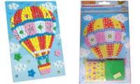 folia Moosgummi-Mosaik Ballonfahrt, 405 Teile