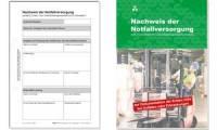 RNK Verlag Block Nachweis der Notfallversorgung, DIN A5