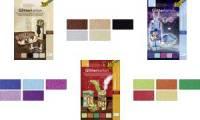 folia Glitterkarton Classic, 240 x 340 mm, 300 g/qm