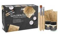 KREUL Vergolden mit Blattmetall, Set Golden Elegance
