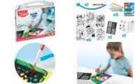 Maped Creativ Pustestift-Set BLOW PEN Pop'Art, 15-teilig