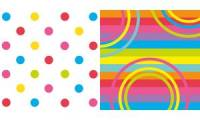 SUSY CARD Motivservietten Mix it! Dots, 330 x 330 mm