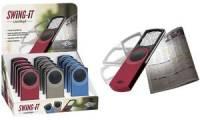 WEDO Rechtecklupe SWING-IT mit LED-Beleuchtung, 15er Display