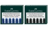 FABER-CASTELL Tintenpatronen Standard, pink