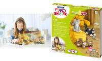 FIMO kids Modellier-Set Form & Play Cat, Level 2