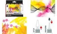 Marabu permanente Tinte Alcohol Ink, Set NEON