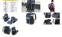 HEYTEC Werkzeug-Rucksack Montage, bestückt, 90-teilig