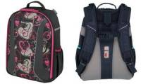 herlitz Schulrucksack be.bag AIRGO Hearts