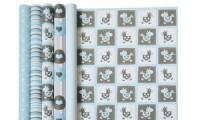 Clairefontaine Geschenkpapier Baby blau, im Display