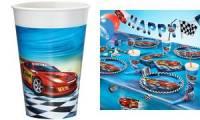 SUSY CARD Kunststoff-Trinkbecher Super Racer, 0,2 l