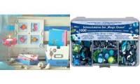 KREUL Schmucksteine-Set Hobby Line Magic Ocean