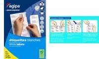 agipa Universal-Etiketten, 105 x 148,5 mm, mit Abzieh-Hilfe
