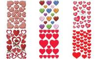 HERMA Sticker DECOR Herzen