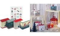 ROTH Adventskalender 24 Adventsboxen Nordic zum Befüllen