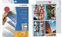 HERMA Postkartenhüllen, für 10 x 15 cm Postkarten, aus PP
