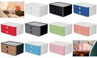 HAN Schubladenbox SMART-BOX ALLISON, 2 Schübe, granite grey