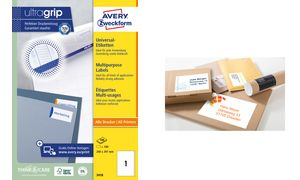 210 x 297 mm weiß agipa Recycling Vielzweck-Etiketten
