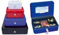 WEDO Geldkassette mit Clip, weiß, (B)152 x (T)115 x (H)80 mm