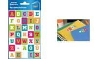 AVERY Zweckform Buchstaben-Etiketten, farbig sortiert
