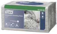 TORK Industrie-Reinigungstücher, 1-lagig, grau
