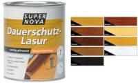 SUPER NOVA Dauerschutz-Lasur, eiche, 750 ml