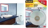 3M Scotch doppelseitiges Spiegel-Montageklebeband, 19mm x 5m