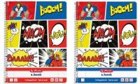 herlitz Collegeblock Comic, DIN A4, kariert