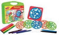 Joustra Kreativset Mandala, im Kunststoff-Koffer