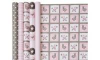 Clairefontaine Geschenkpapier Baby rosa, im Display