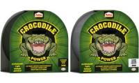 Pattex Crocodile Power Klebeband, 26 mm x 10 m, schwarz