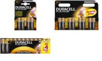 DURACELL Alkaline Batterie PLUS POWER, Mignon AA, 4er