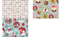 SUSY CARD Weihnachts-Geschenkpapier Little toys