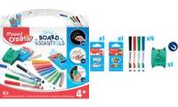 Maped Creativ BOARD ESSENTIALS Schreibtafel-Set, 7-teilig