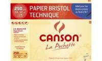 CANSON Zeichenpapier Bristol, 240 x 320 mm, 250 g/qm
