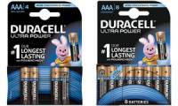 DURACELL Alkaline Batterie ULTRA POWER Micro, 4er Blister