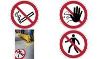 DURABLE Verbotskennzeichen Zutritt verboten, selbstklebend