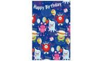 SUSY CARD Kinder-Geburtstagskarte Monsterparty