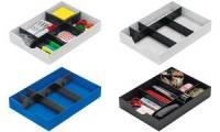 styro System-Schublade für Sortierstation styrodoc, schwarz