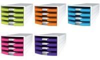 HAN Schubladenbox IMPULS 2.0 Trend Colour, 4 offene Schübe