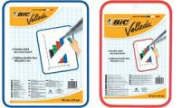 BIC Weißwandtafel Velleda, 2 Seiten, Maße: 440 x 550 mm