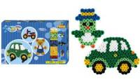 Hama Bügelperlen maxi Teddybär + Auto, Geschenkpackung