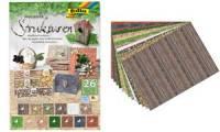 folia Motivblock Strukturen, 240 x 340 mm, 26 Blatt