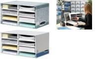 Fellowes BANKERS BOX SYSTEM Schreibtisch-Manager, grau