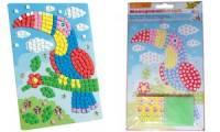 folia Moosgummi-Mosaik Papagei, 405 Teile