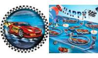 SUSY CARD Papp-Teller Super Racer, Durchmesser 230 mm